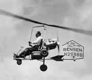 Early Bensen gyrocopter