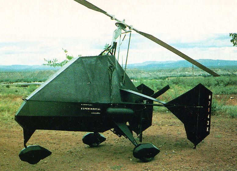Richard Bentleys Mangoos Stealth Gyrocopter