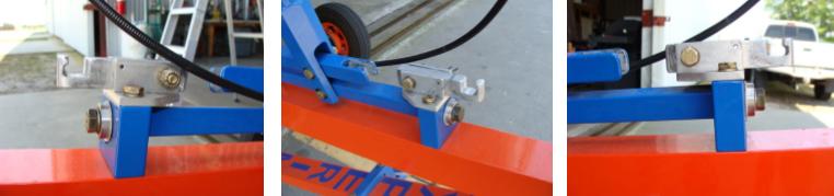 Gyrocopter rotorblade ground flap lock