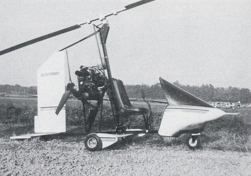 DIY gyrocopter Ikenga