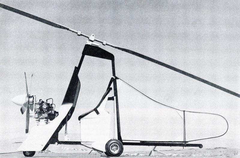 Gyroplane designs IKENGA