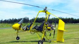 Subaru EA81 powered gyrocopter