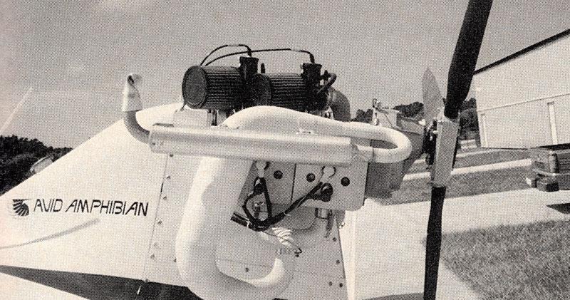 Arrow Engines two stroke ultralight engine