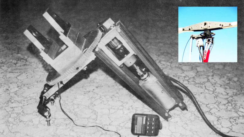 Building an electric pre-rotator