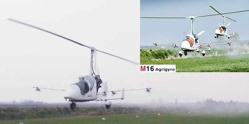 Gyroplane Popularity - Magni m16 agrigyro