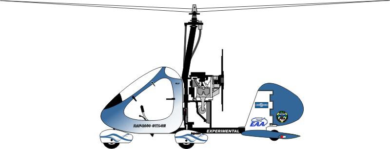 RAF2000 GTX SE gyrocopter