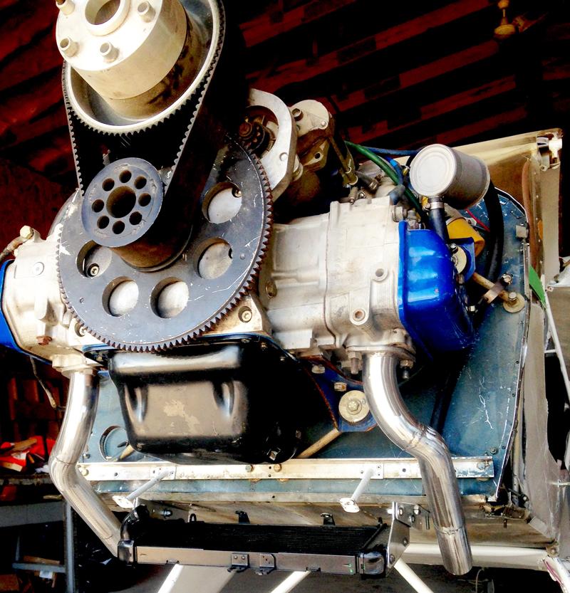 Stratus EA-81 engine conversion