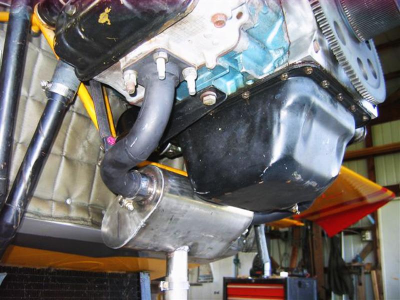 Subaru Stratus exhaust muffler