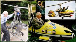 Commander K Wallis Little Nellie gyro safety