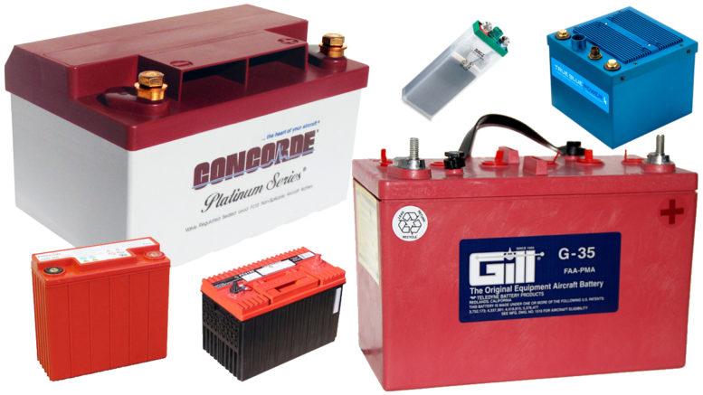 Aircraft battery maintenance