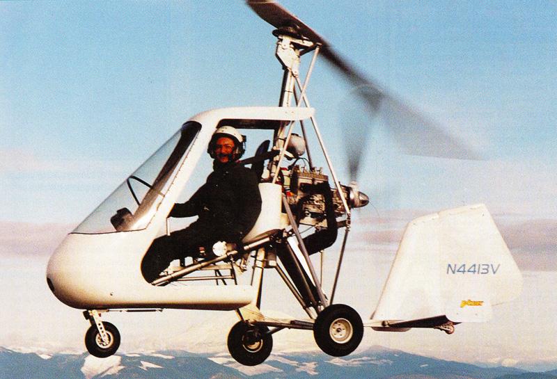 Jim Vanek Sport Copter Vortex Gyroplane
