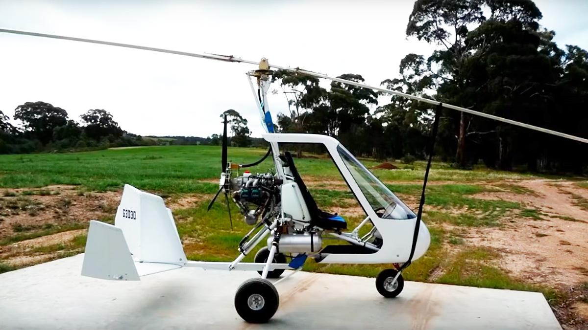 Jim Vanek Sport Copter Gyrocopter Design