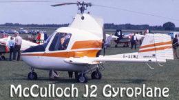 McCulloch J2 Gyroplane