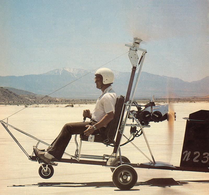 Brock KB-2 gyroplane