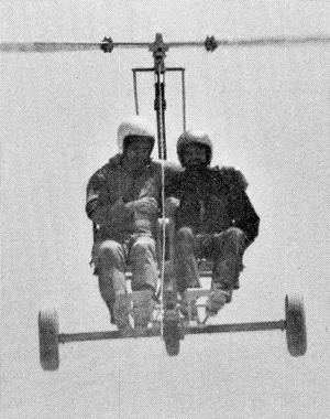Brock tow glider gyroglider