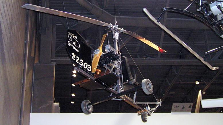 Original Ken Brock gyrocopter