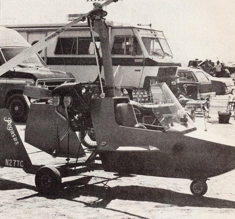 El Mirage 1985 pegasus gyrocopter