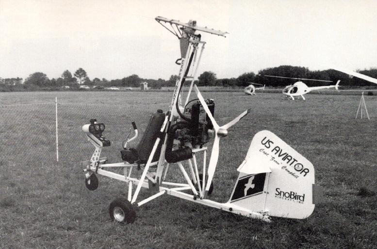 SnoBird gyrocopter us aviator
