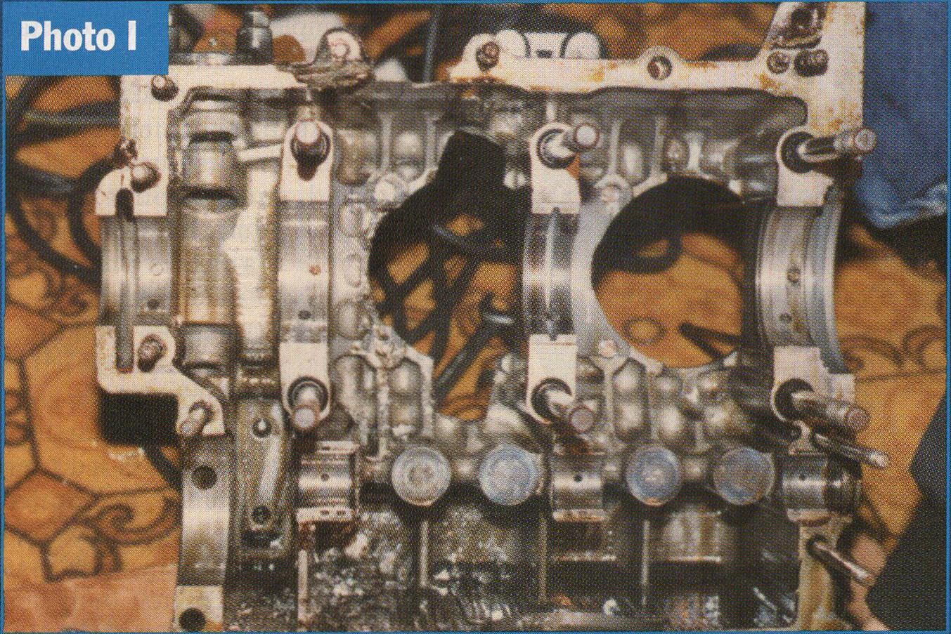 aero vw main crank bearing