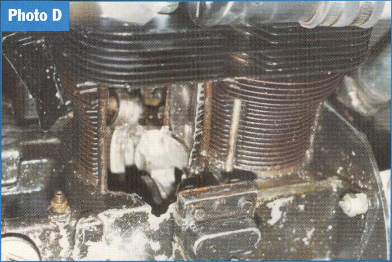 aircooled vw engine cylinder fail