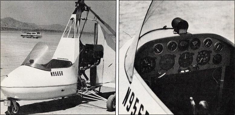 innovative gyrocopter design 1985