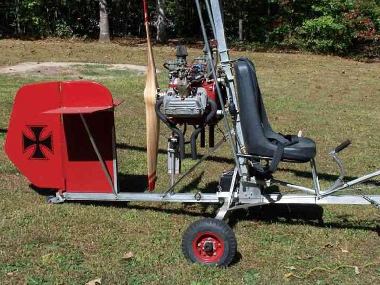 vw powered gyroplane red baron
