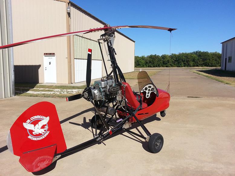 Autogyro Gyrocopter Aircraft Gyroplane AC447