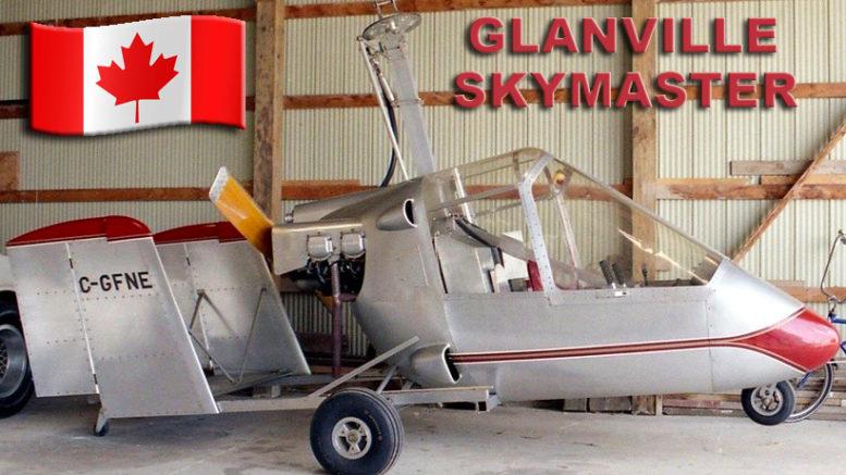 Glanville GA 2C Skymaster Gyroplane