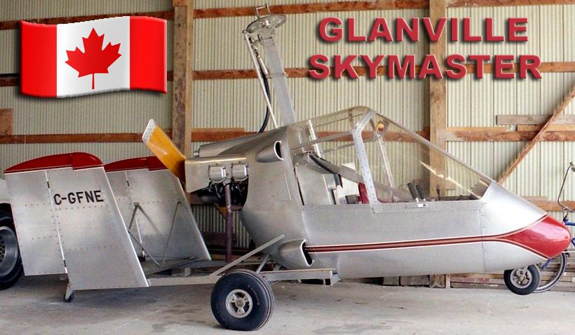 The Glanville GA-2C Skymaster Gyroplane