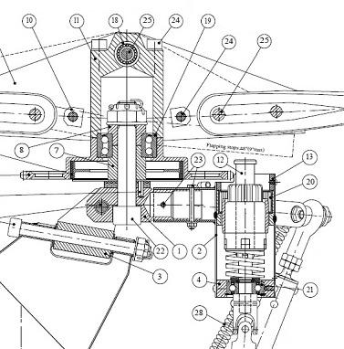 JT5 gyrocopter rotorhead