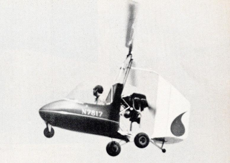 Jerrie Barnett J 4B gyrocopter