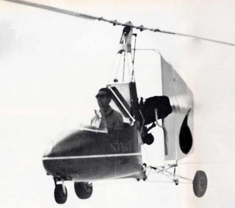 Jerrie Barnett flying