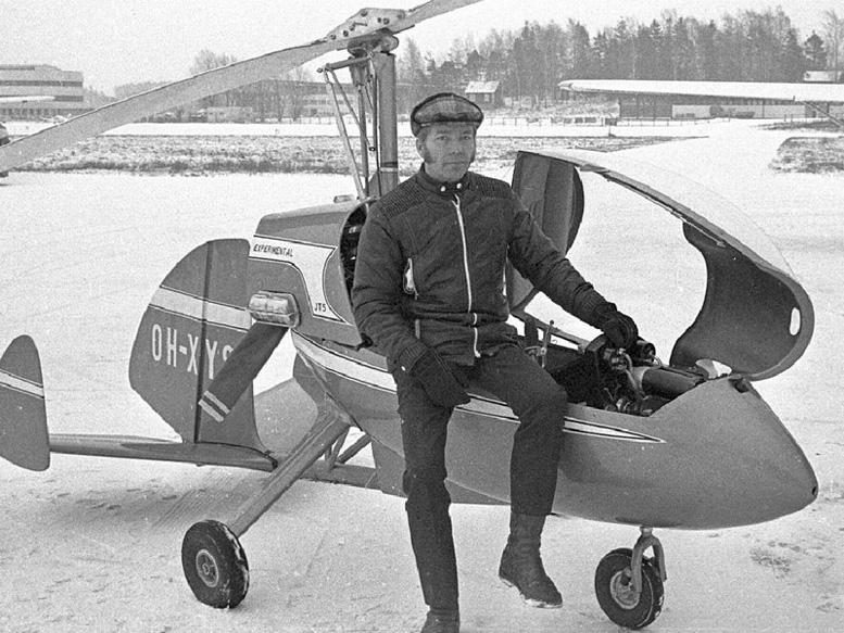 Jukka Tervamaki JT 9T autogyro