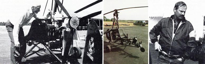 Ken Wallis Dennis Fetters Gyrocopters