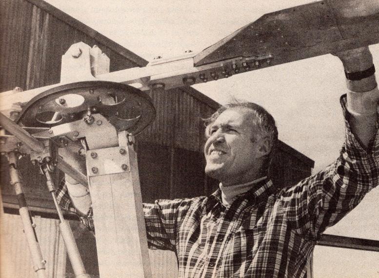 Martin Hollmann gyroplane designer