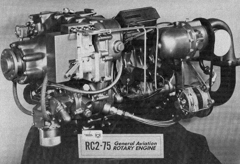 RC2 75 rotary engine
