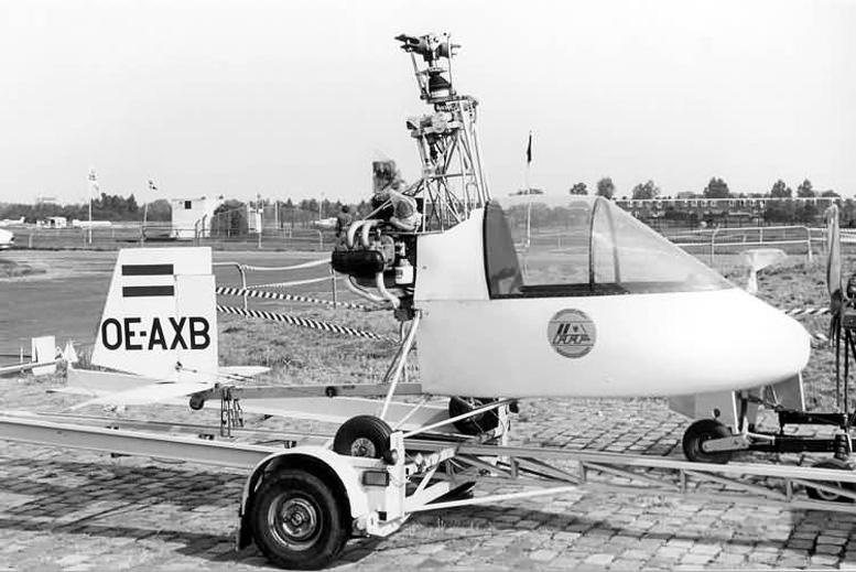 Subaru EA 81 Barnett JB4 gyrocopter