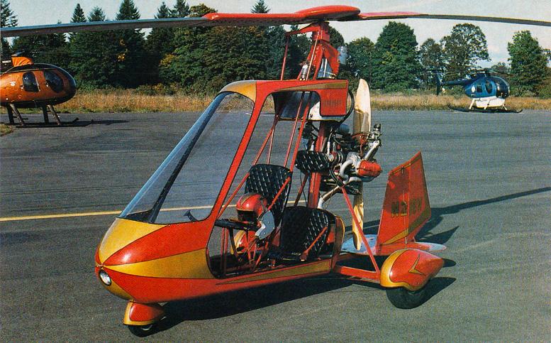 Vancraft Copter gyroplane