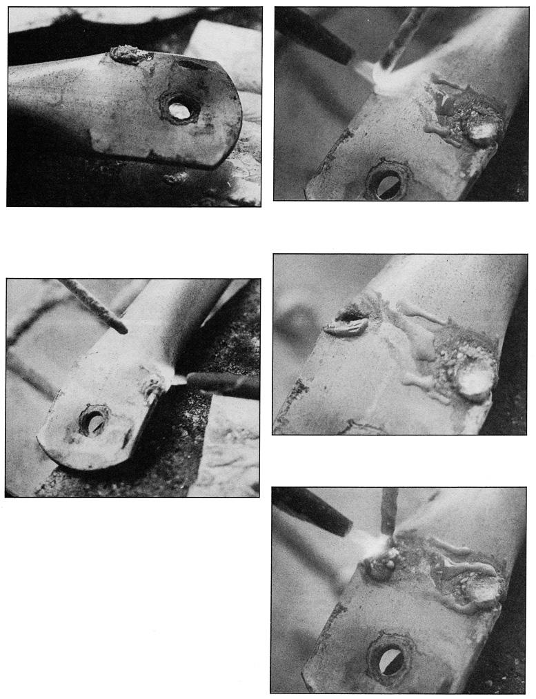 aluminum gas welding repairs