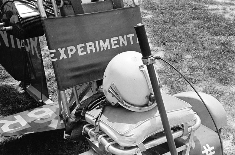 experimental B 8M experimental gyrocopter