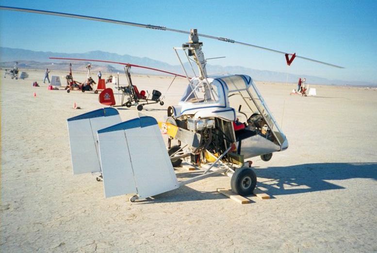 ga 2c glanville skymaster gyrocopter
