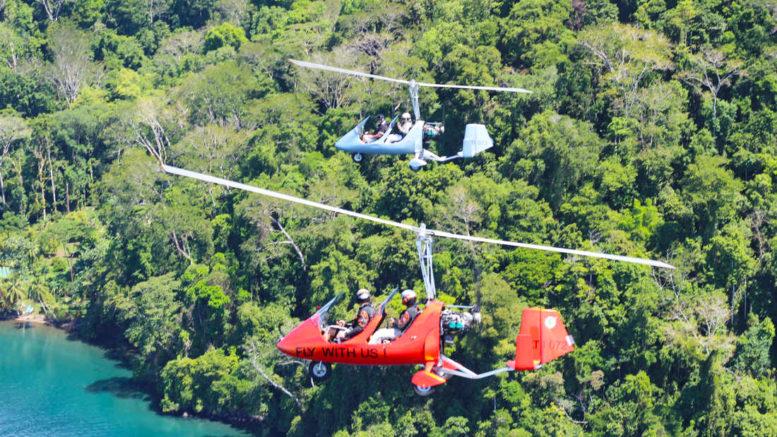 gyrocopter crash survival