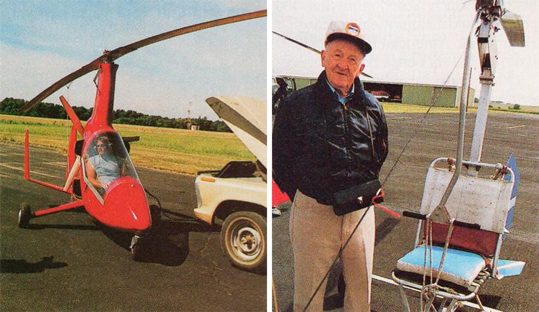 gyrocopter gyroglider