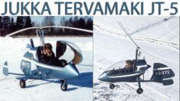 jukka tervamaki jt 5 gyrocopter finland