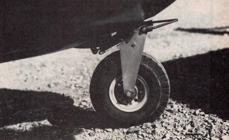solid gyrocopter nosewheel barnett