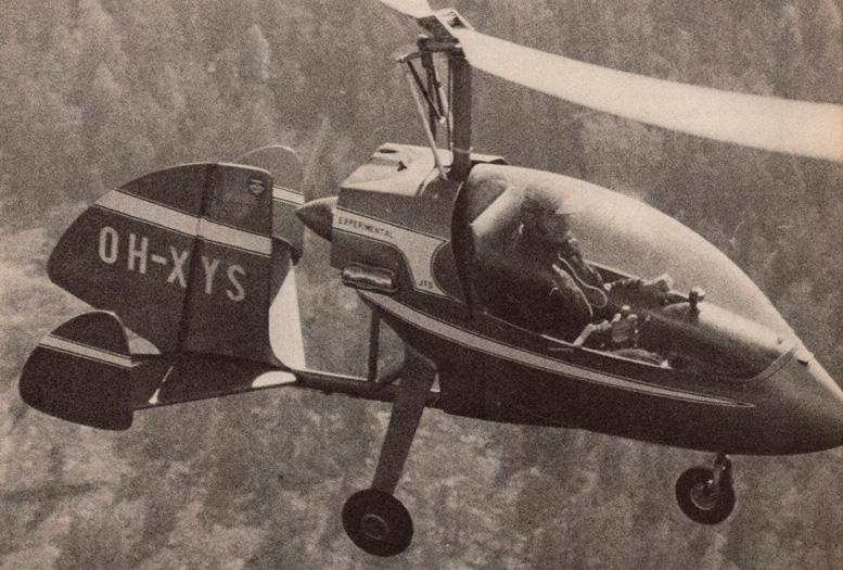 tervamaki jt 5 gyrocopter