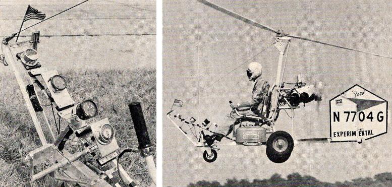 B 8M Faro gyrocopter
