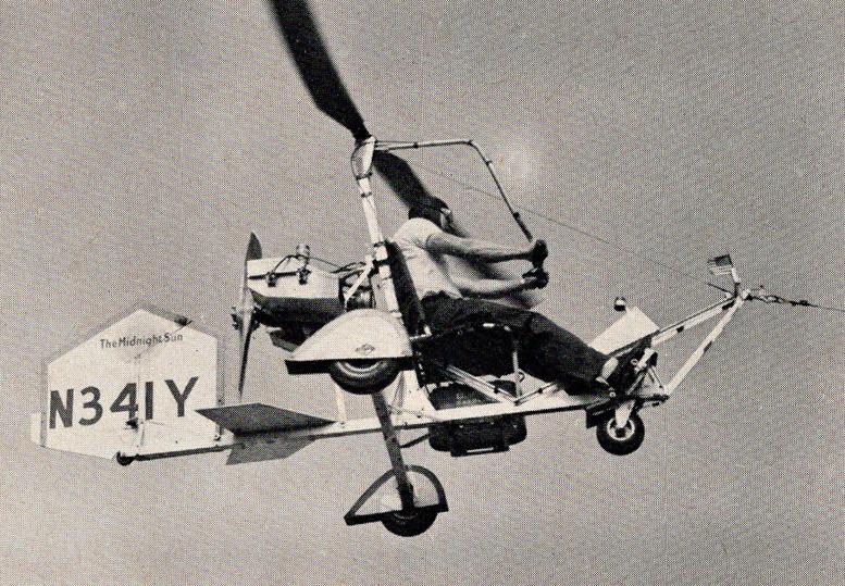 B 8M The Midnight sun gyrocopter