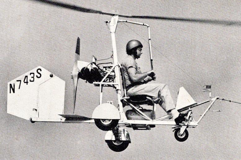 B 8MSR Mayfly gyrocopter