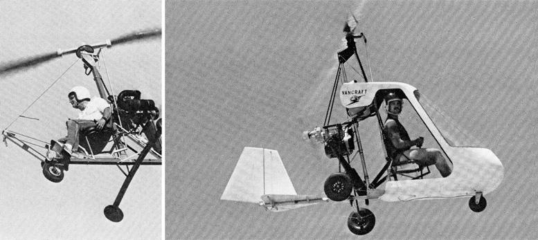 Brock kb-3 vaneck vancraft gyrocopter